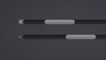 Simple Scrollbars (PSD)