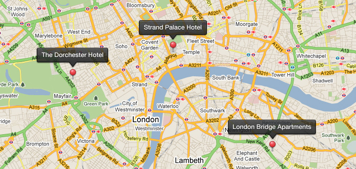 map pins tooltips psd