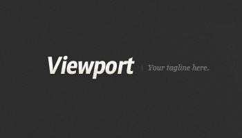 ViewPort: Magazine Site Template (PSD)