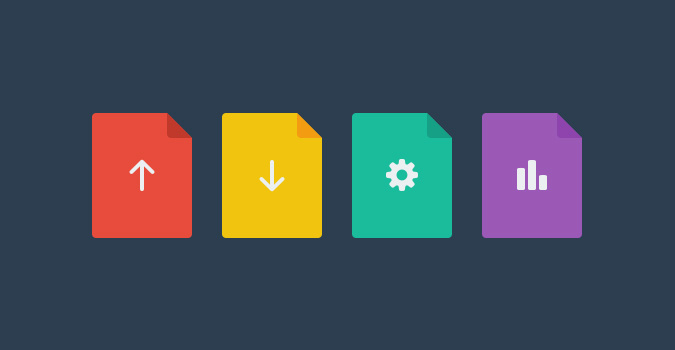 Flat File Icons (PSD)