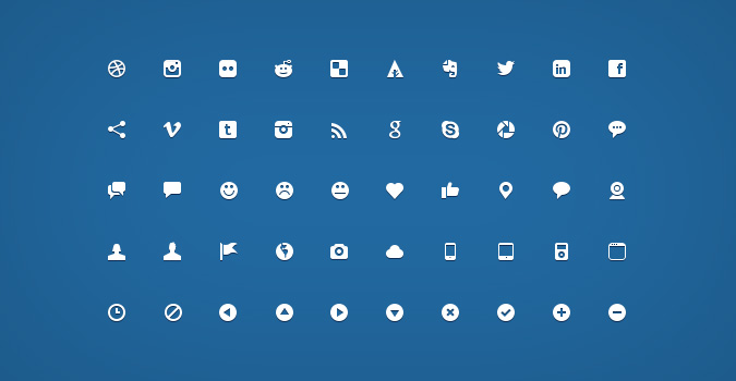 200 Handcrafted Micro Icons Psd